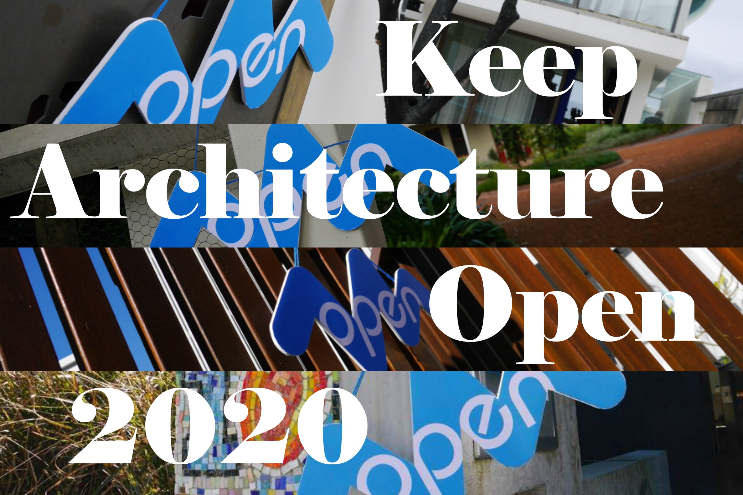 Keep Architecture Open 2020