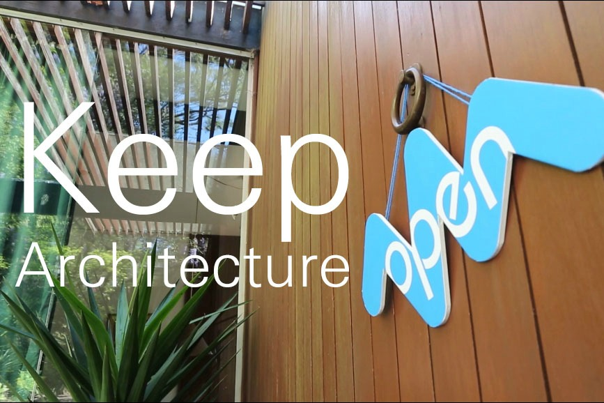 Keep Architecture Open